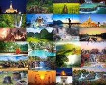 旅游風光攝影高清圖片