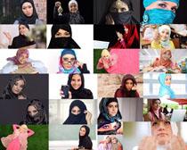 國外女人裝扮攝影高清圖片