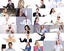 国外职业人物手势摄影高清图片