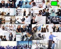 职业人士会议摄影高清图片