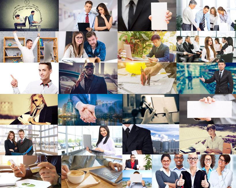 职场商务人士拍摄高清图片