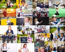 国外小学生儿童摄影高清图片