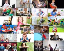 国外生活宝宝摄影高清图片