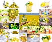 花朵精油展示摄影高清图片