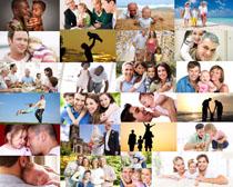 国外家庭人物摄影高清图片