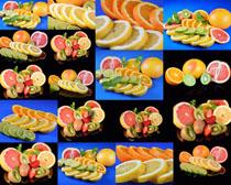 橙子柠檬水果摄影高清图片