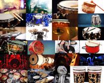 音乐鼓器材摄影高清图片
