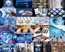 数码科技商务展示拍摄高清图片