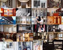 家庭衣柜摄影高清图片