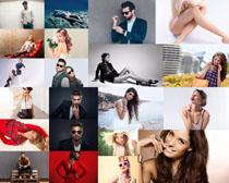 欧美男女模特写真摄影高清图片