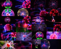 彩色科技球体摄影高清图片
