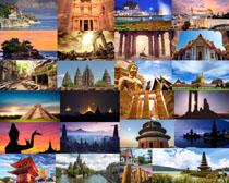 旅游景點風光攝影高清圖片