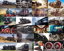 国外怀旧火车摄影高清图片