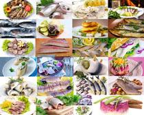 鱼片原料食材摄影高清图片