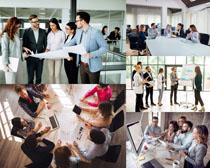 商务团队人士摄影高清图片