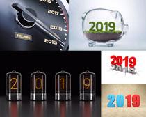2019節日新年PSD素材
