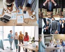 商务团队合作人士摄影高清图片