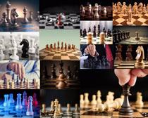 国际棋子摄影高清图片