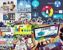 商务人士数据分析摄影高清图片