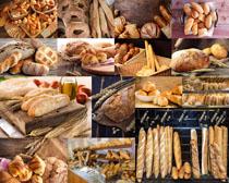 干粮早餐面包摄影高清图片