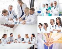 医生团队人物摄影高清图片