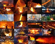 钢铁制造工业摄影高清图片