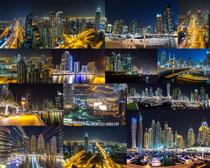 城市夜城风光拍摄高清图片