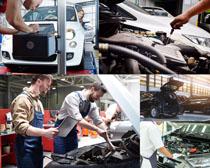 汽车部件维修摄影高清图片