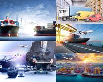 港口运输工具摄影高清图片
