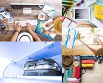 生活旅行裝備攝影高清圖片