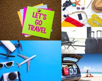 旅行裝備攝影高清圖片