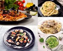 海鲜粉食物摄影高清图片