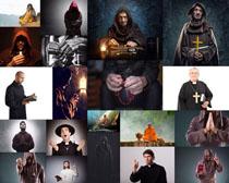 国外佛教人士摄影高清图片