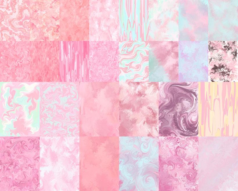 粉红色绘画背景摄影高清图片