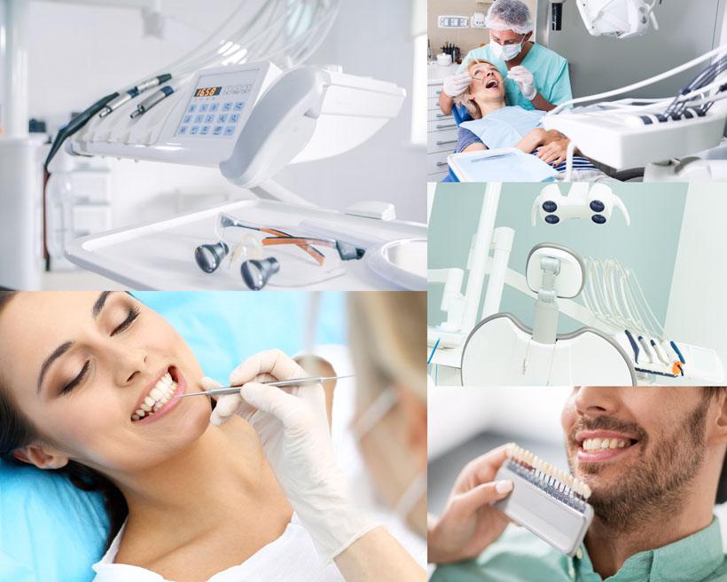 牙齿保养人物摄影高清图片