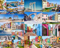 欧洲色彩城市摄影高清图片