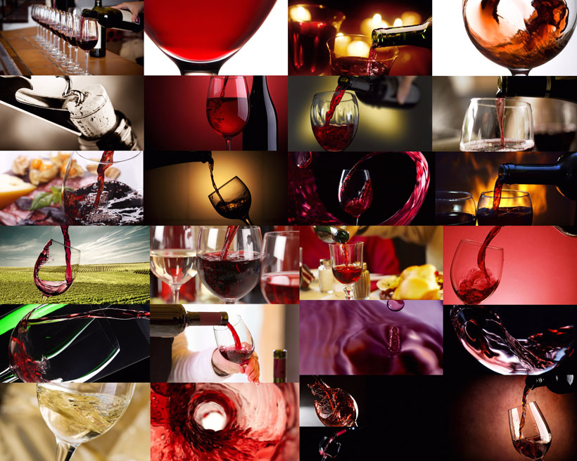 红酒饮料摄影高清图片