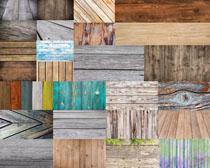 色彩木板块摄影高清图片