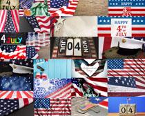 美国旗帜背景摄影高清图片