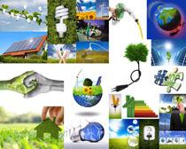 环保节能灯泡摄影高清图片
