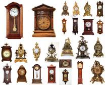 古董鐘表攝影高清圖片