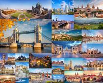 外国建筑城市景观拍摄高清图片