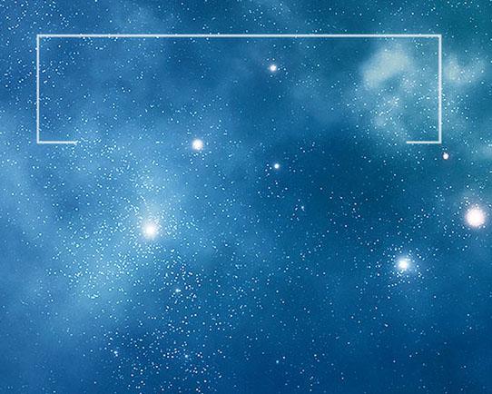 天空星星背景PSD素材