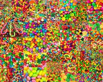 彩色糖果球摄影高清图片