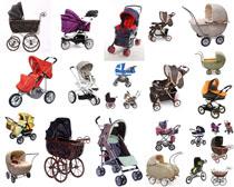 漂亮婴儿车摄影高清图片