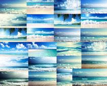 大海蓝天风景摄影高清图片