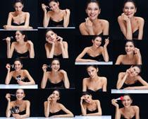 化妆肌肤美女拍摄高清图片