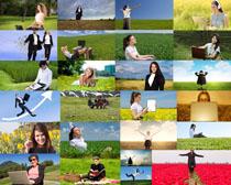 野外职业女性摄影高清图片