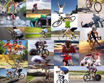 自行车比赛人物摄影高清图片