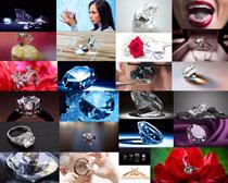珠宝钻石人物摄影高清图片